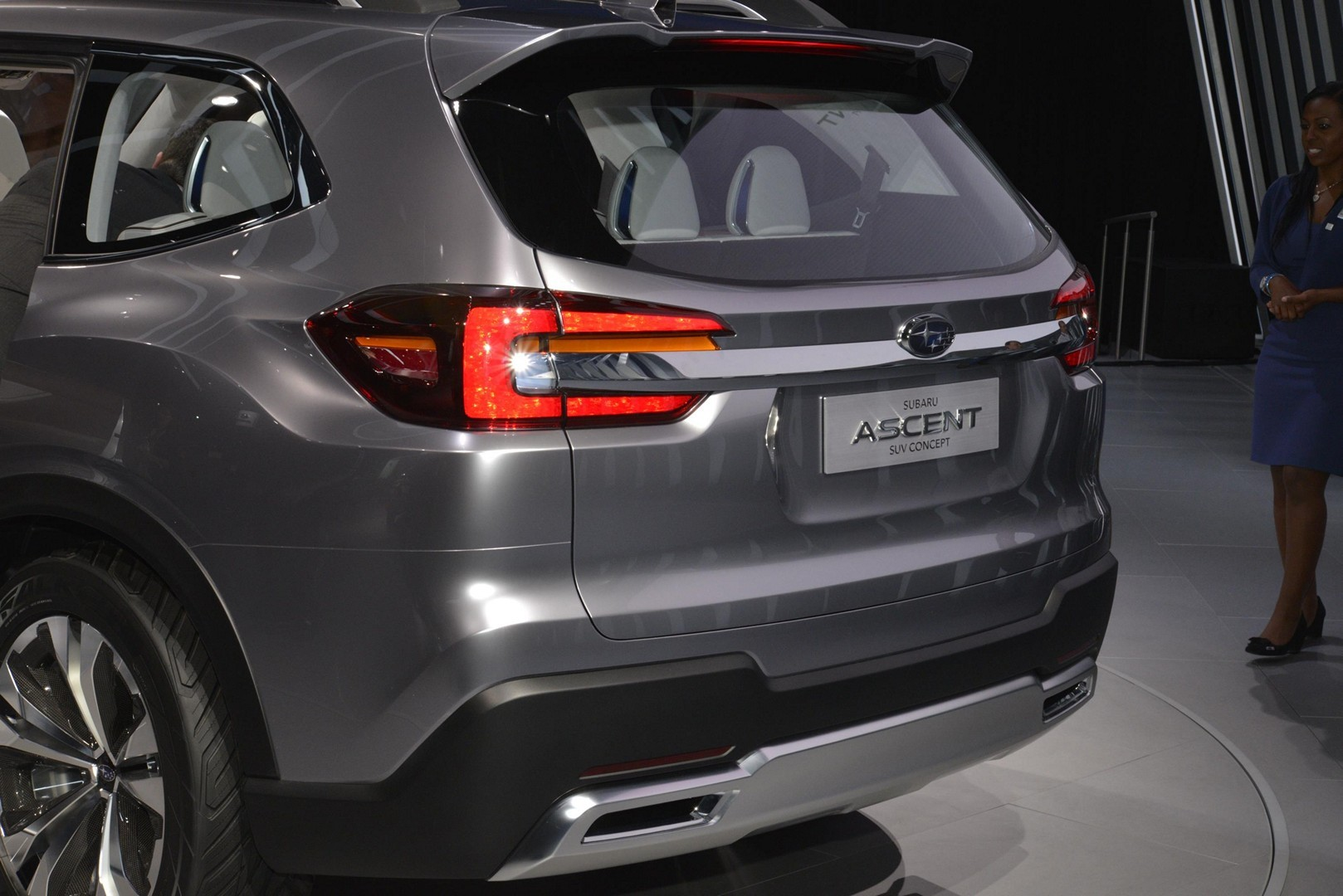 Subaru Ascent Concept Debuts With Stunning Interior In New York