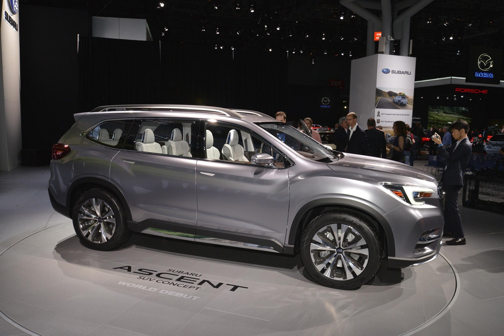 Subaru Ascent Concept Debuts With Stunning Interior in New ...