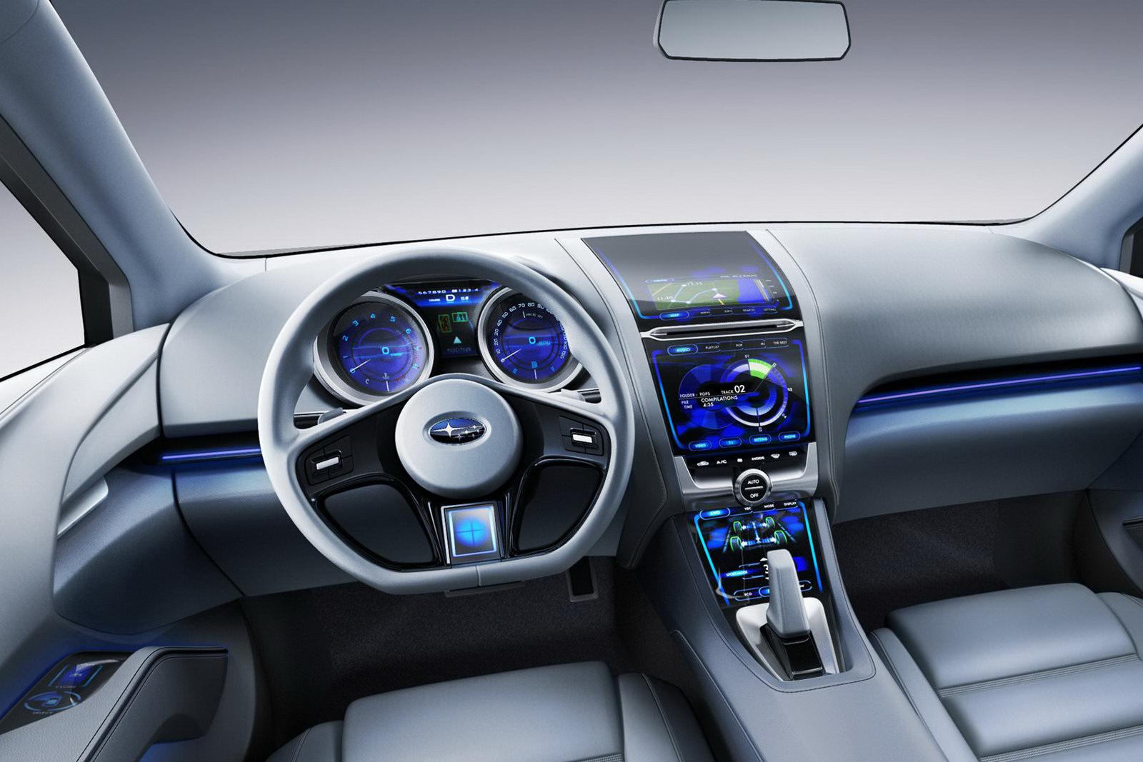 Subaru Brings Impreza Concept to 2010 LA Auto Show  autoevolution