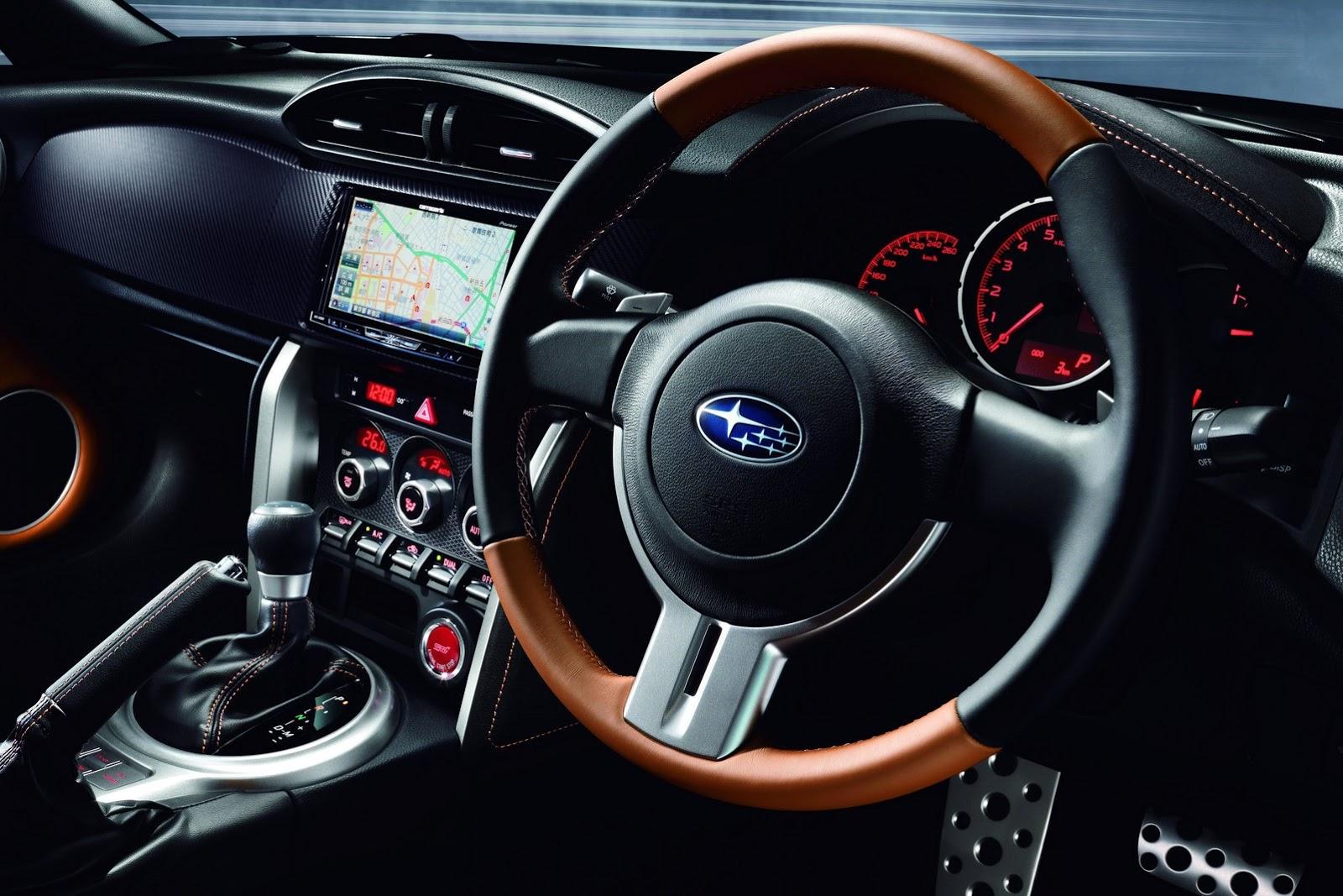Subaru Brz Premium Sport Package Revealed In Japan