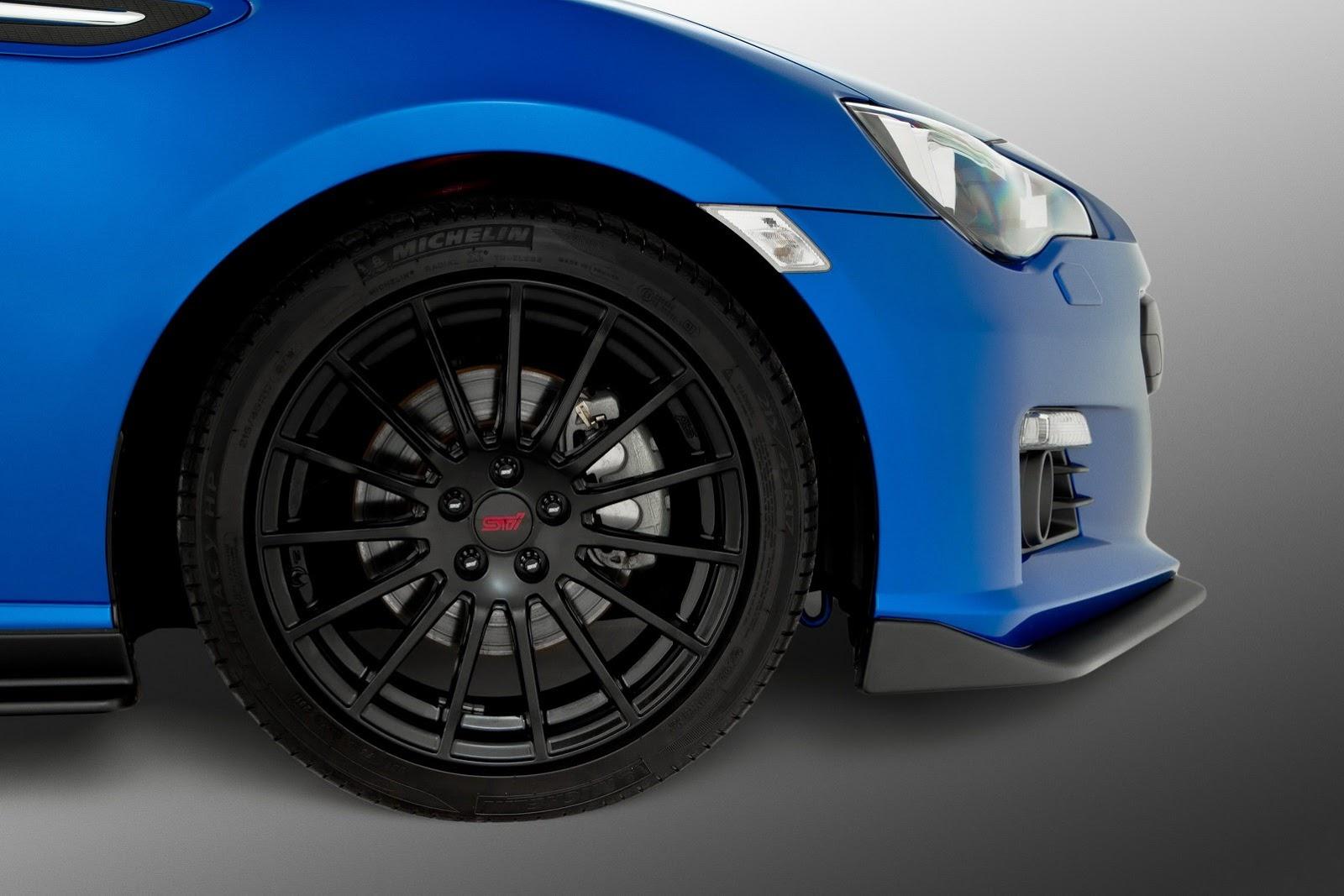subaru brz sti kit revealed in sydney autoevolution