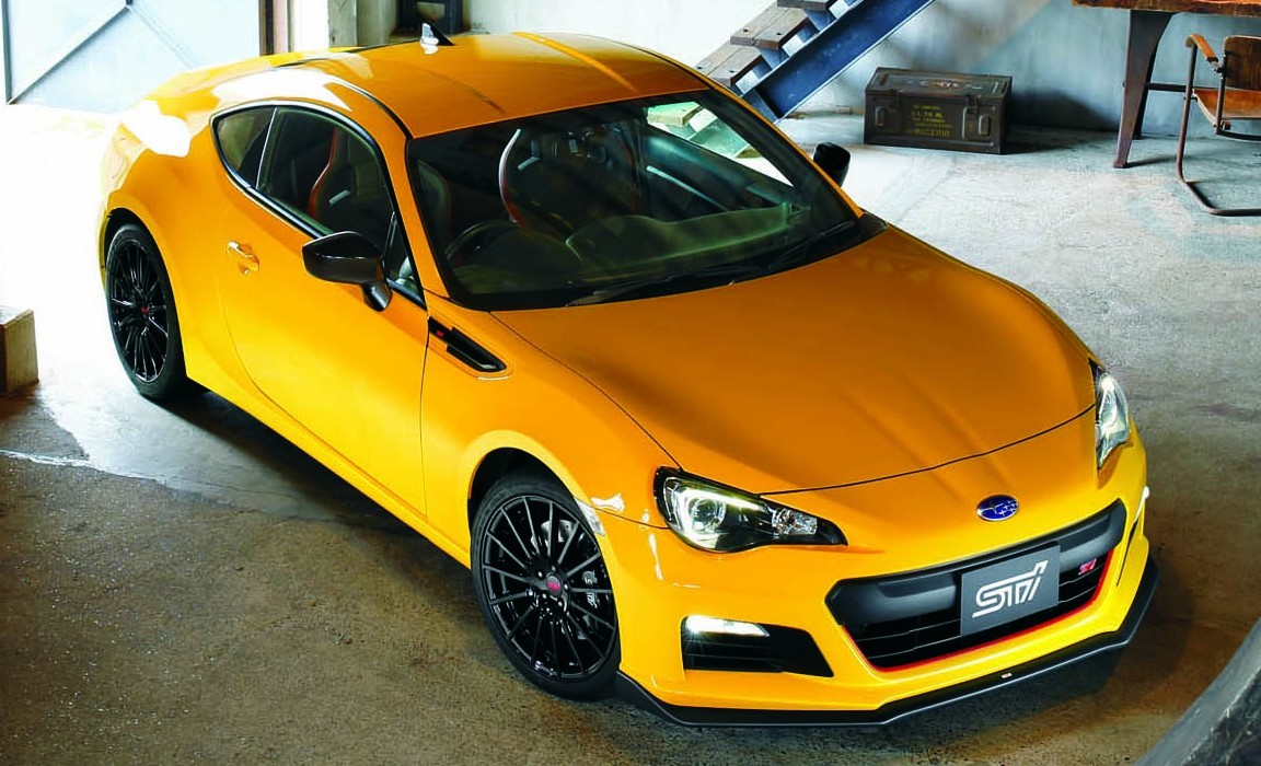 Subaru BRZ tS STI Launched in Japan: Tweaked Suspension and Brembo ...