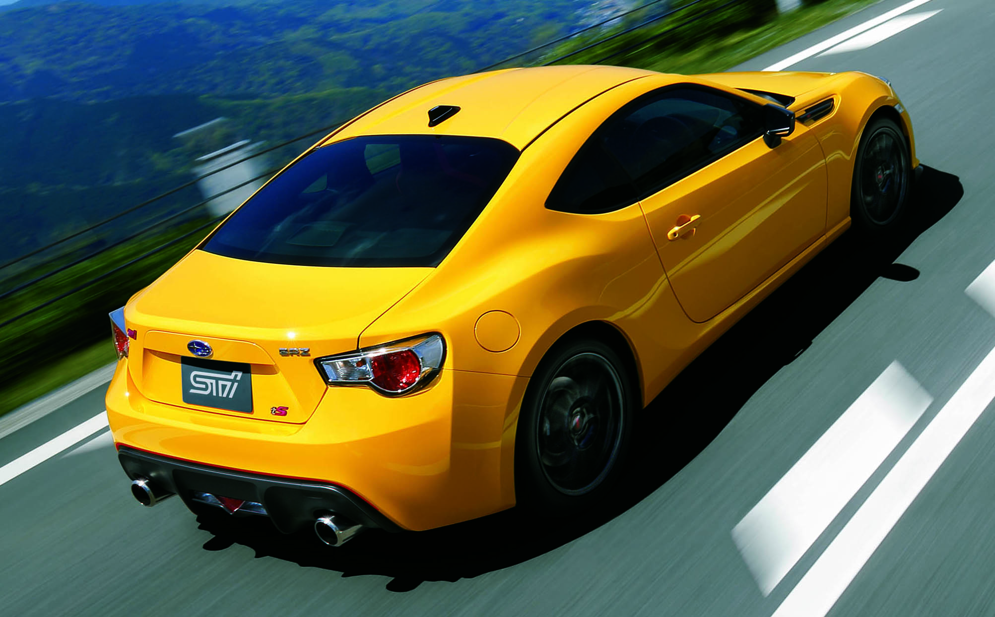 Subaru Brz Ts Sti Launched In Japan Tweaked Suspension