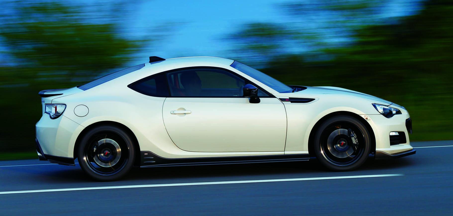 Subaru BRZ tS STI Launched in Japan: Tweaked Suspension ...