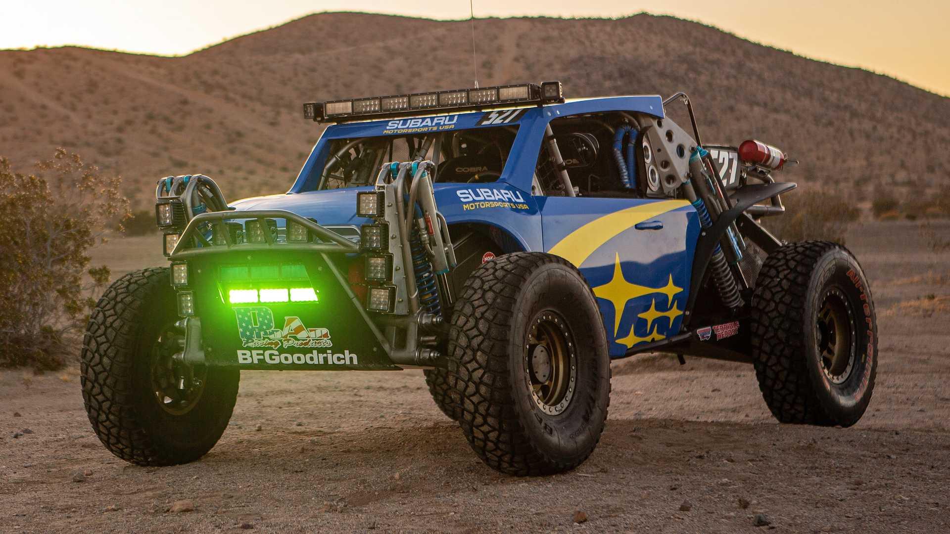 Subaru Crosstrek Desert Racer Looks Ready To Hit the Sand