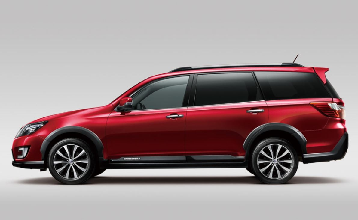 Subaru Exiga Crossover7 X Break Debuts In Japan