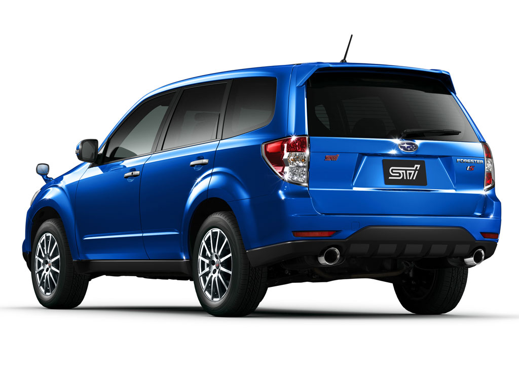 Subaru Forester tS Is an STI Toy - autoevolution