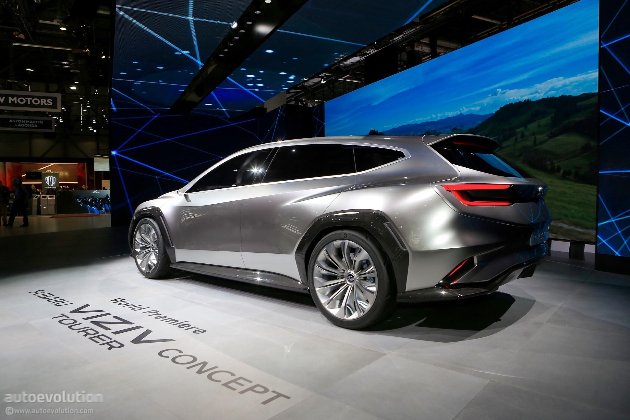 Subaru Gets Nostalgic In Geneva With Impreza WRX Wagon ...