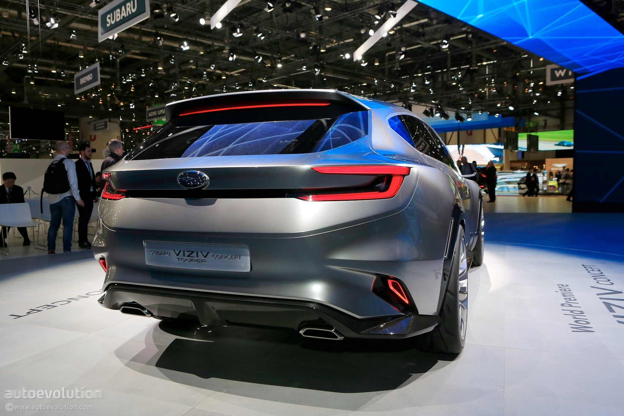 Subaru Gets Nostalgic In Geneva With Impreza Wrx Wagon Like Viziv