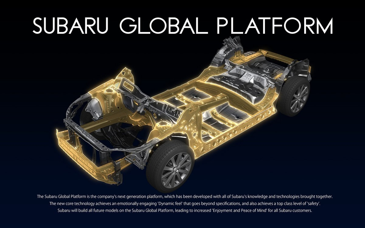 Subaru Global Platform to Hit the Market with the 2017 ...