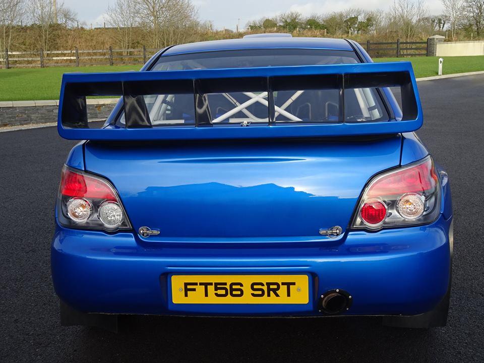 Subaru Impreza WRC S12B Driven by Petter Solberg and Colin McRae Put ...