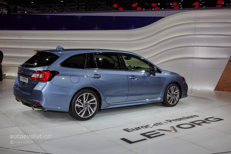 Subaru Levorg Makes the Weirdest Debut of the Geneva Motor Show 2015 ...
