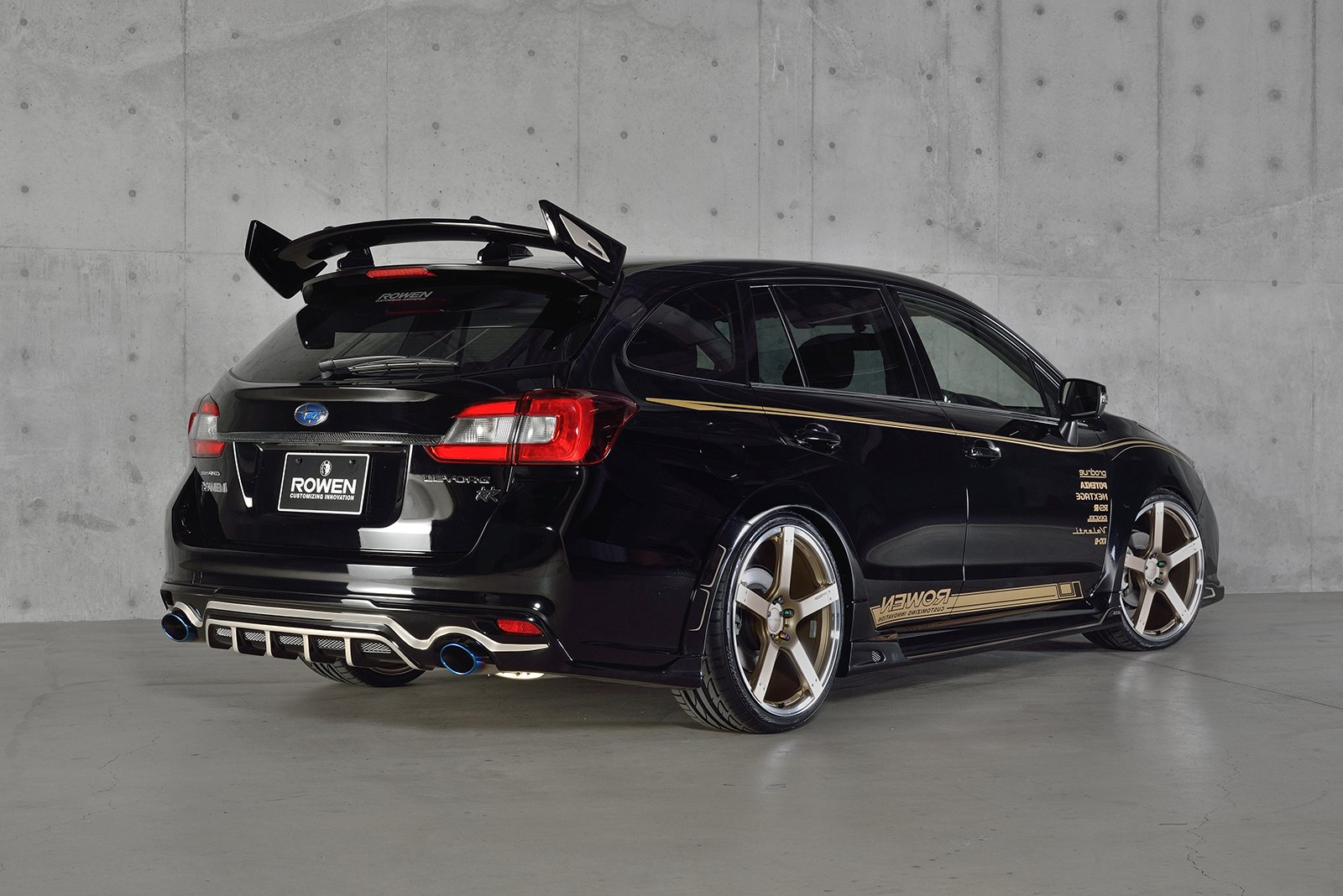 Subaru Levorg Tuned by Rowen: Tampered Forbidden Fruit – Photo ...