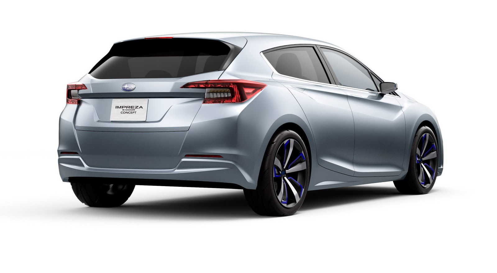 Subaru previews 2017 impreza with 5 door concept in tokyo for Door design new model 2017