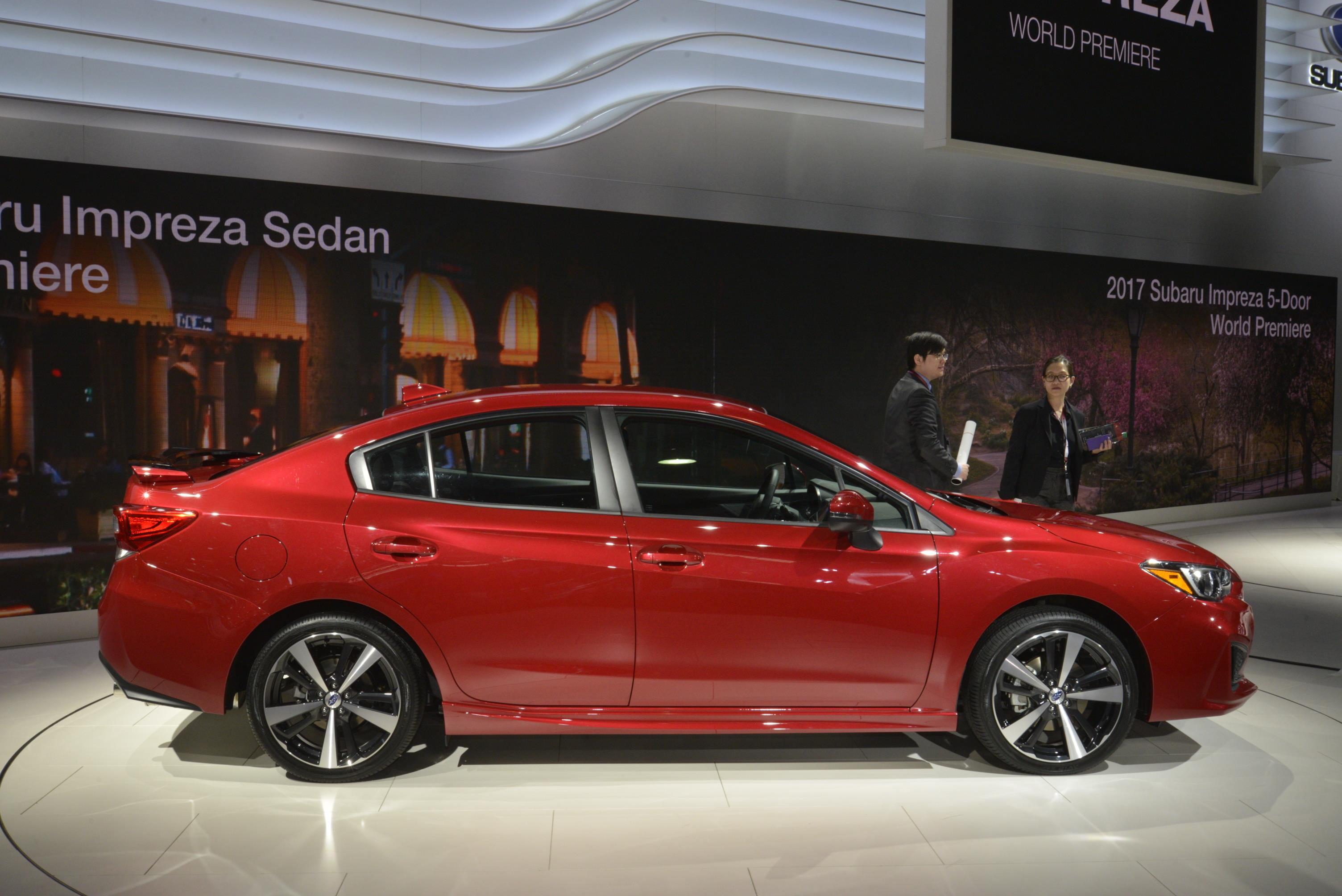 2018 Subaru Impreza WRX STI Might Look like This ...