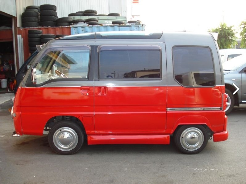 Subaru Sambar Conversion Looks Like A VW Love Van For Little People And Its Sale
