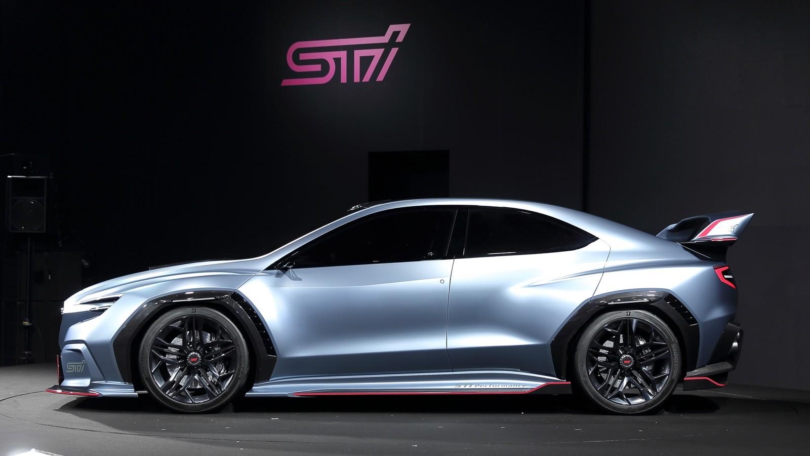 Subaru Tests Our Patience With Viziv Performance STI ...
