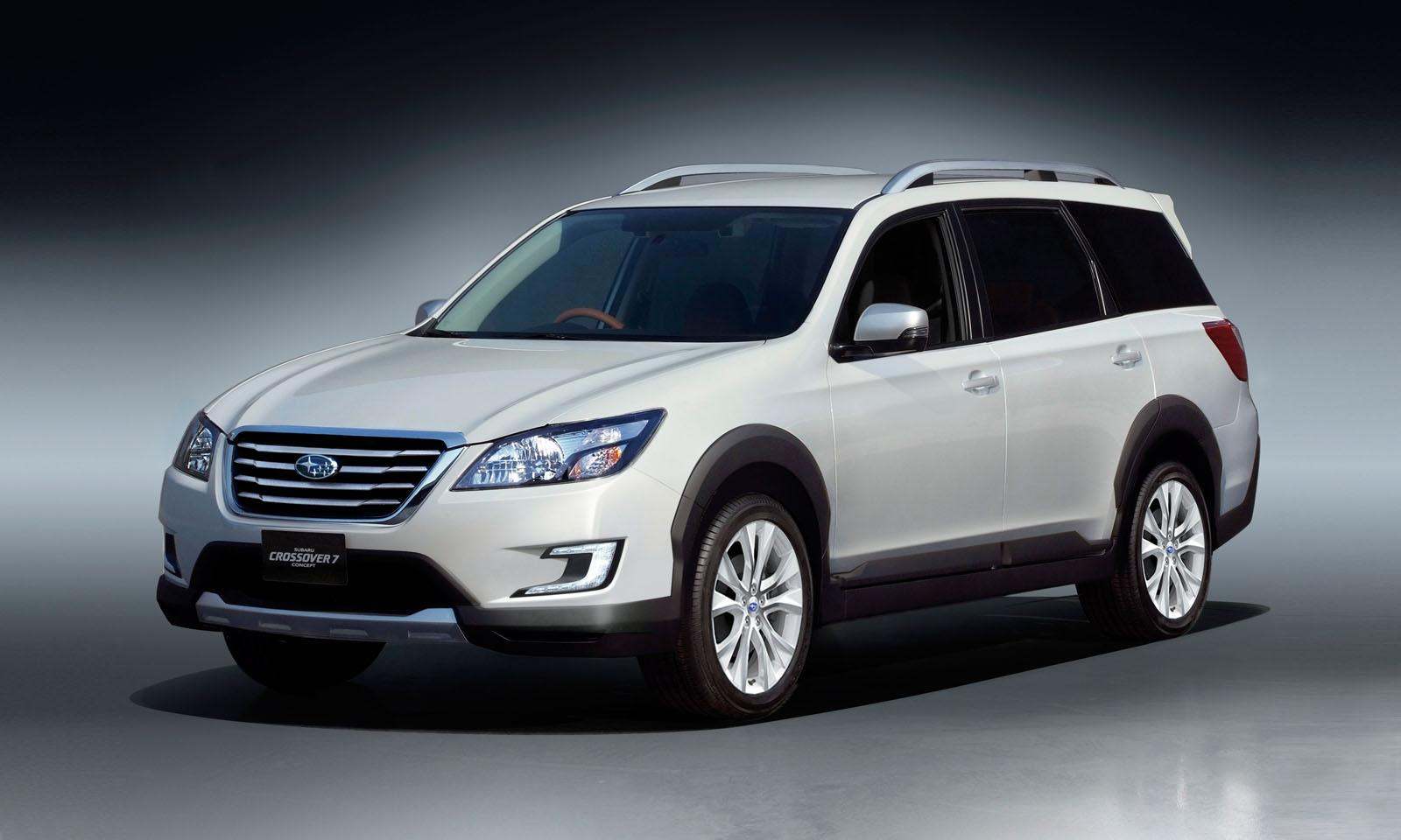 Subaru Unveils Crossover 7 Concept - autoevolution