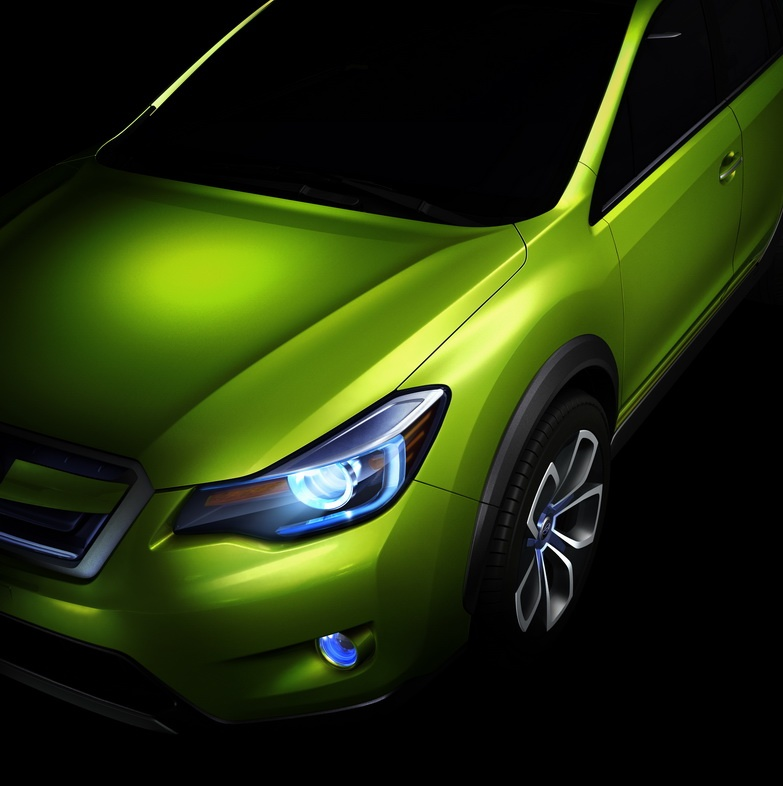 Subaru Unveils XV Concept in Shanghai - autoevolution