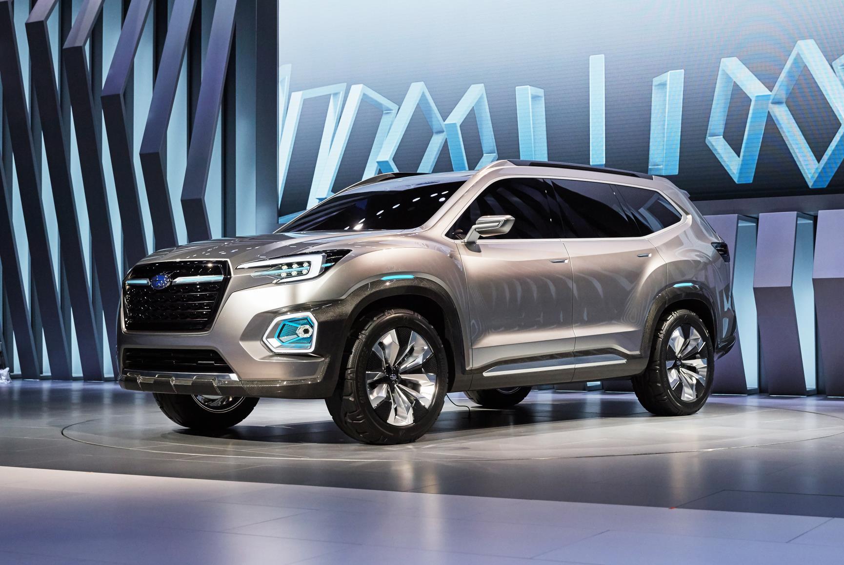 Subaru Viziv 7 Concept Preview For 2019 Tribeca Seat Mid