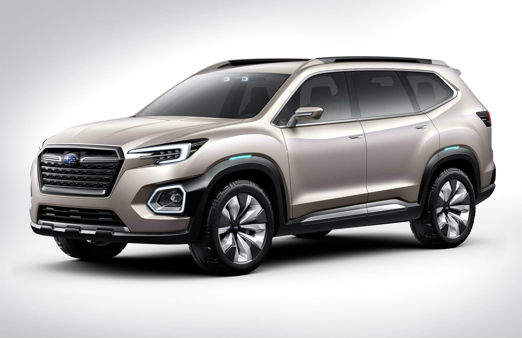 Subaru Tribeca 2016 >> 2019 Subaru Three Row Crossover Is Expected To Get Hybrid ...
