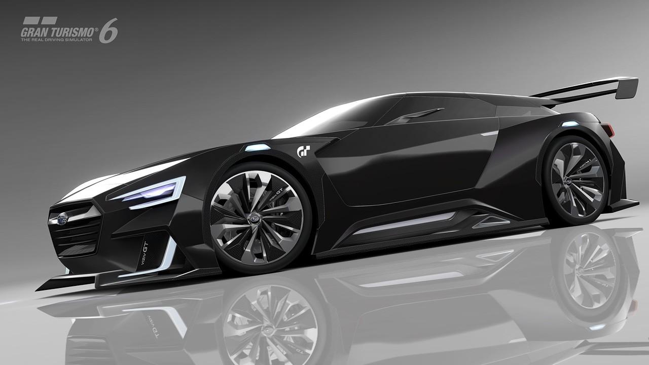 Subaru Viziv Gt Vision Gran Turismo Revealed Soon In Your
