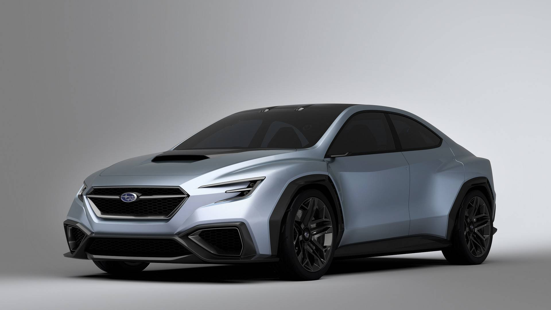 subaru viziv performance concept is slightly larger than. Black Bedroom Furniture Sets. Home Design Ideas