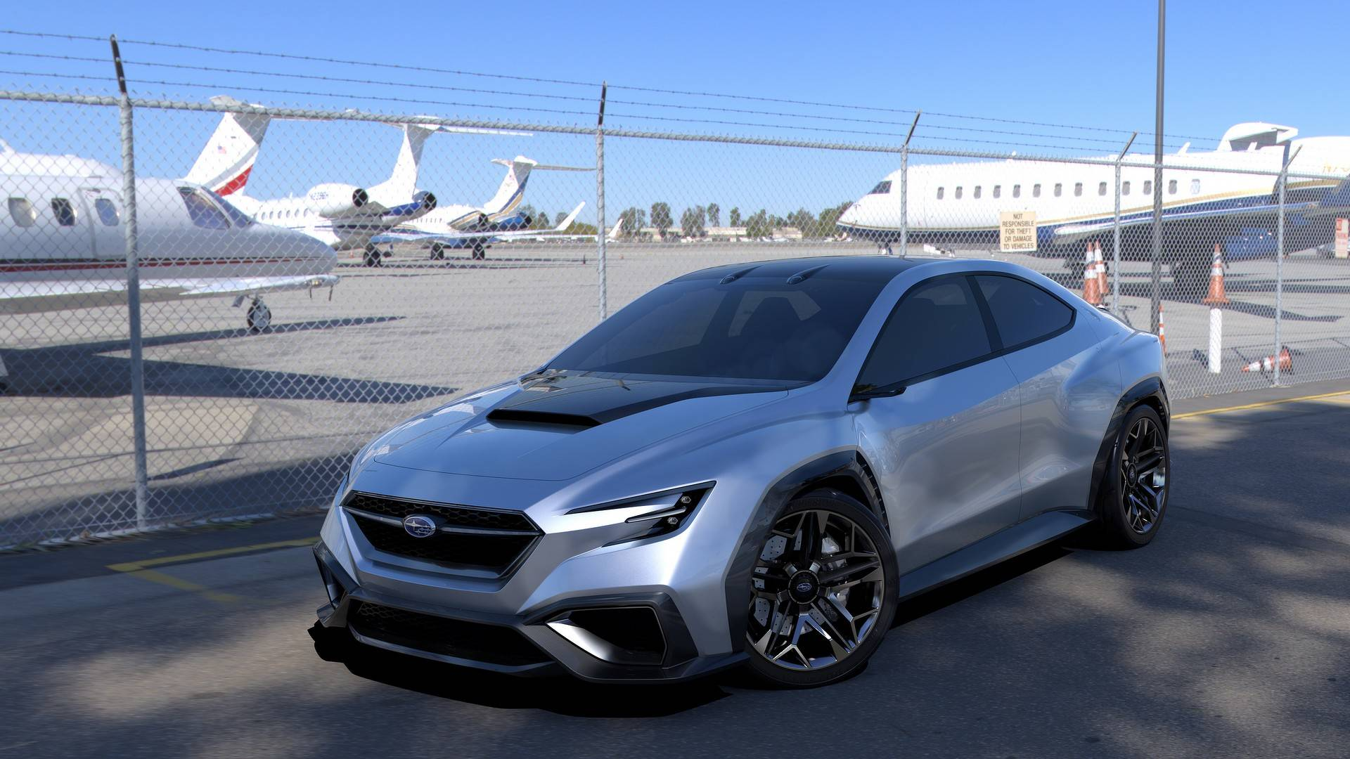 Subaru Viziv Performance Concept Is Slightly Larger Than