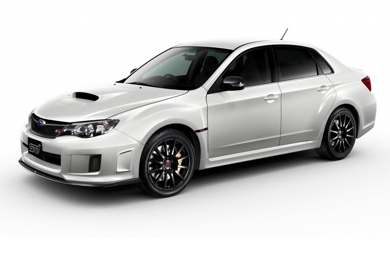 Subaru Wrx Sti Gets New Japan Exclusive Special Edition