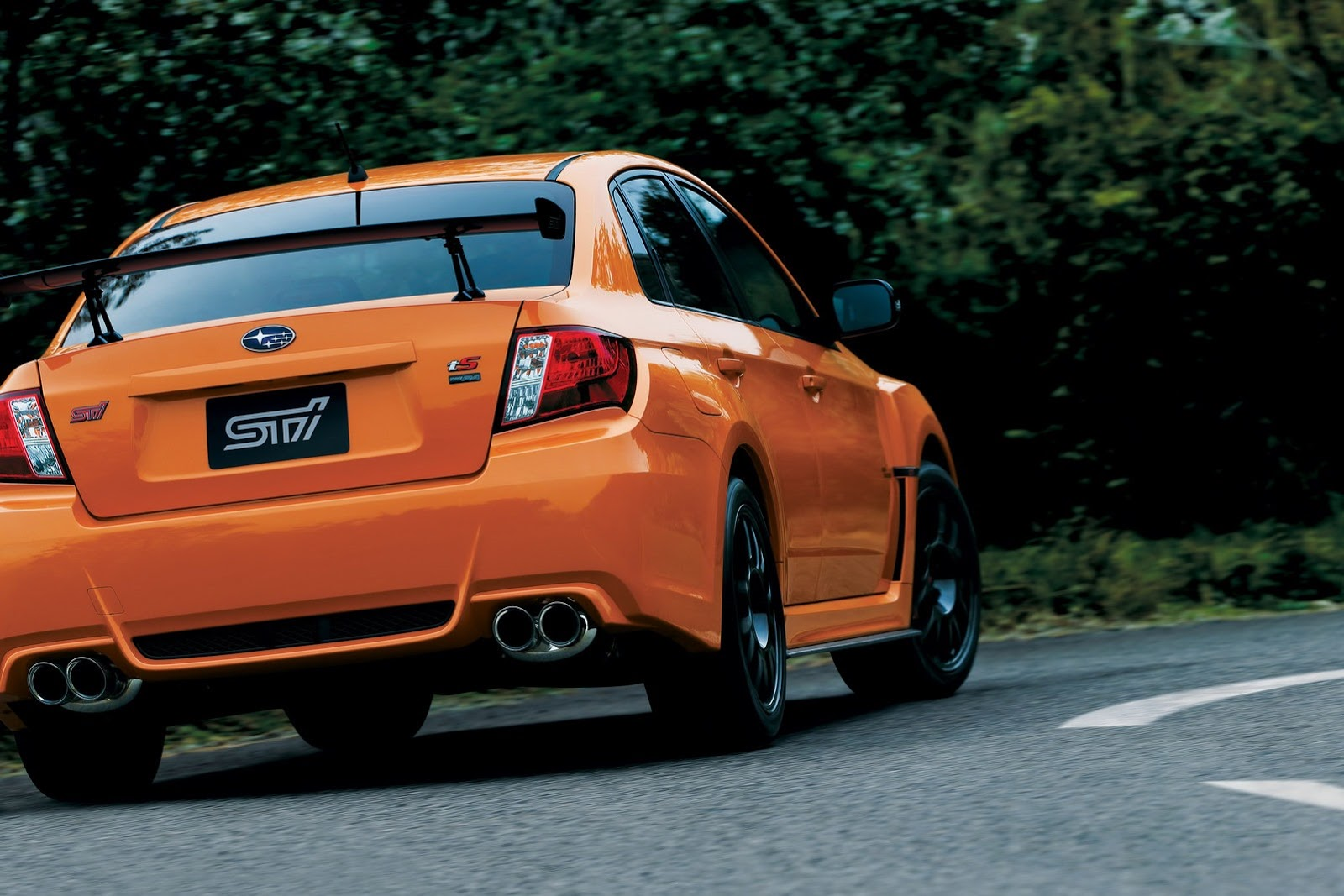 Wrx Performance Parts >> Subaru WRX STI Gets New Japan-Exclusive Special Edition ...