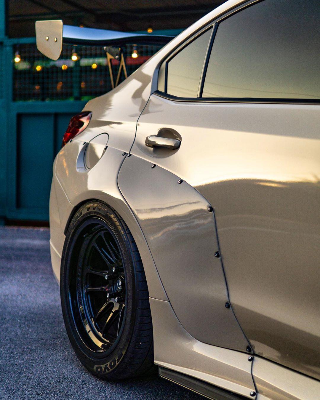 Subaru WRX STI With CCC Widebody Kit Shows Awesome Desert