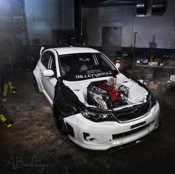 Subaru Wrx With Nissan Skyline Gt R Engine Swap Is The