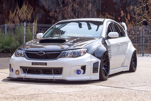 2017 Sti Lowered >> Subaru WRX with Nissan Skyline GT-R Engine Swap Is the Panda WRX - autoevolution