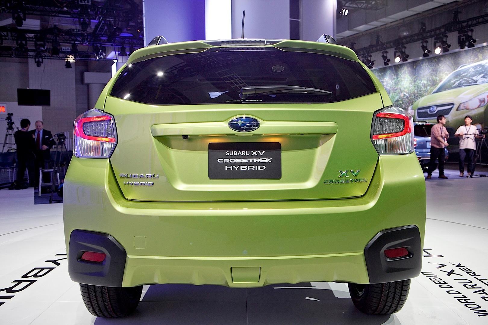 Subaru Xv Crosstrek Hybrid Is Green In The Big Apple