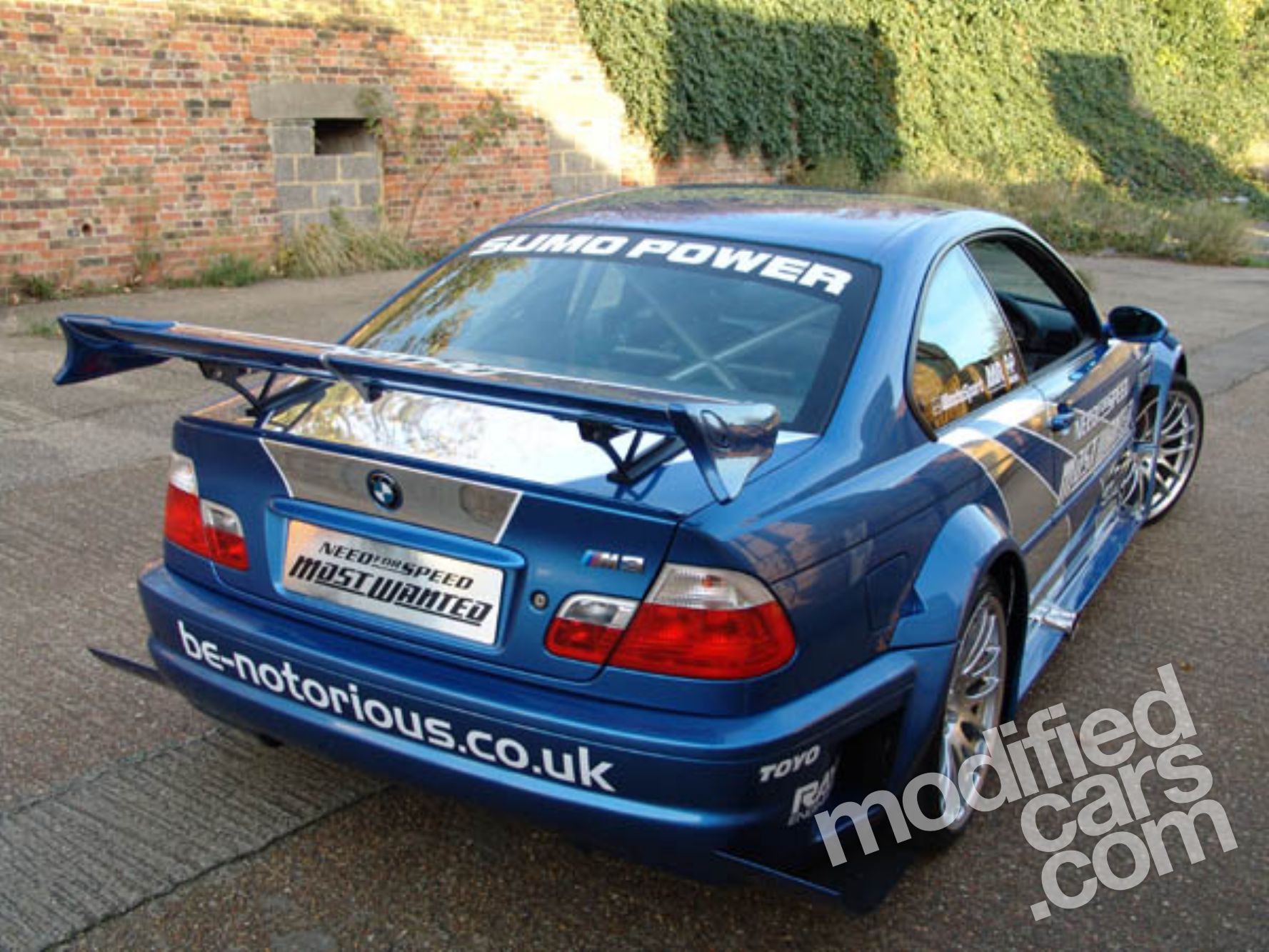 Sumo Power Bmw E46 M3 Gtr Was Built For Ea Games Autoevolution