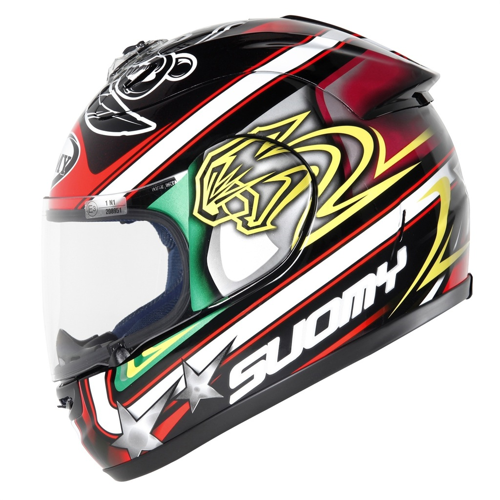 Suomy max biaggi replica helmet introduced autoevolution suomy max biaggi replica thecheapjerseys Image collections