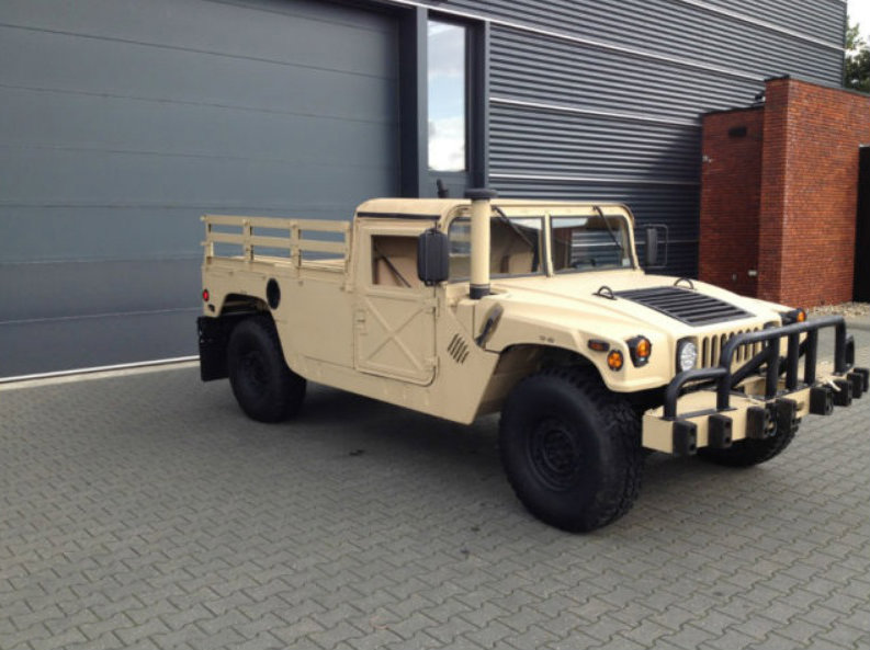 Super Clean Humvee Pickup Truck For Sale In The Netherlands Autoevolution