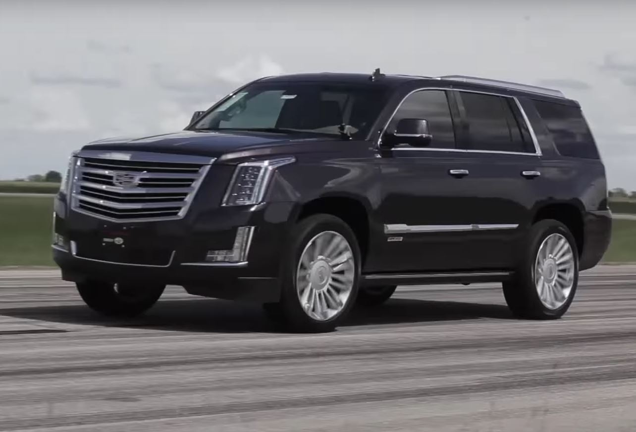 Supercharged Cadillac Escalade HPE800 Is RWD, Makes a ...