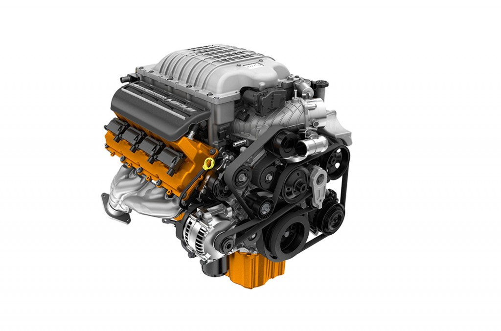 Supercharged Hellcat V8 Engine Detailed Video