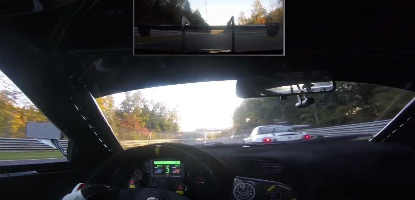 Rear Engined Mazda Rx 7 Packs Twin Turbo Lamborghini V10 In Outcast