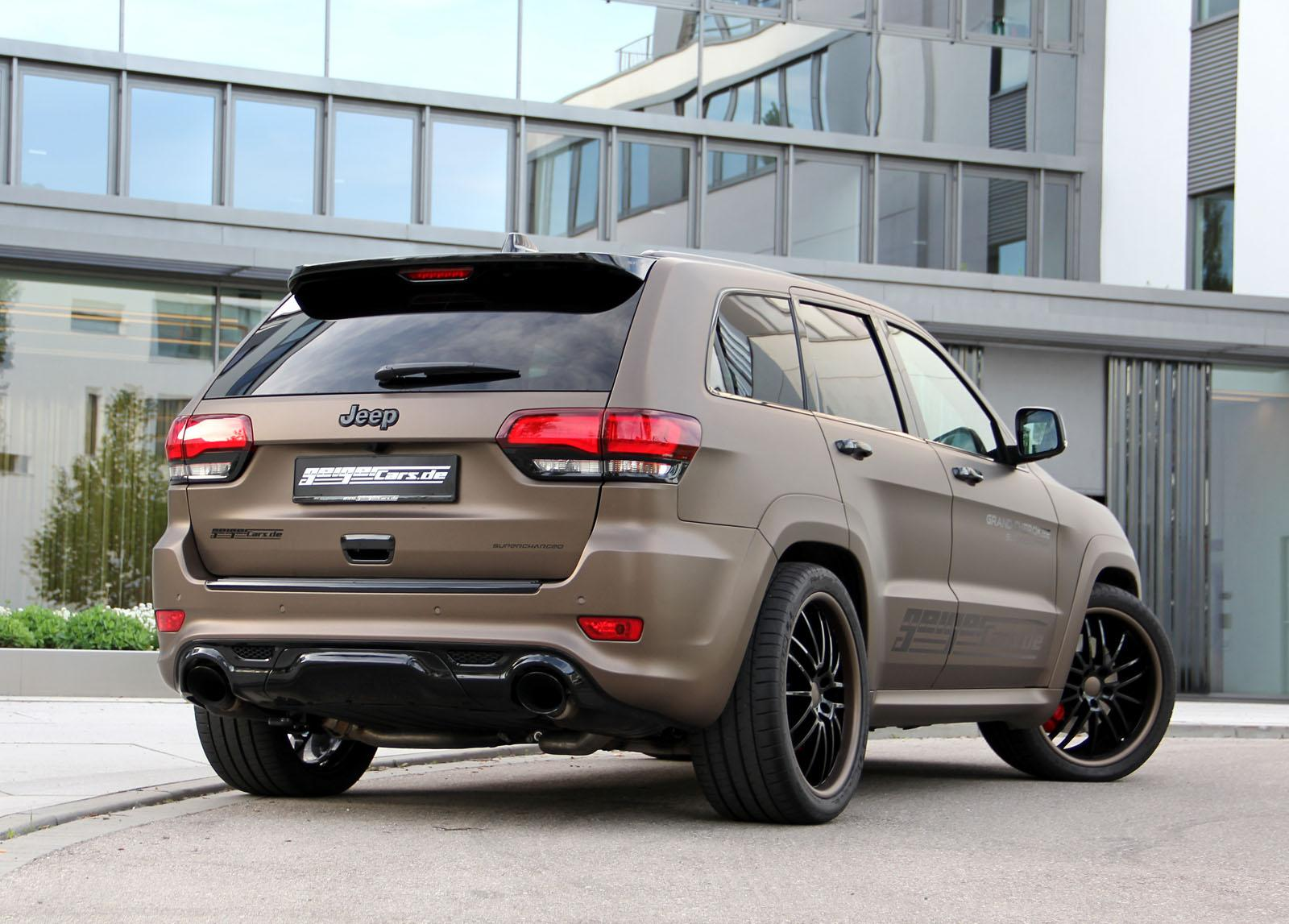 Exceptional ... Supercharged Jeep Grand Cherokee SRT From Geiger Cars ...