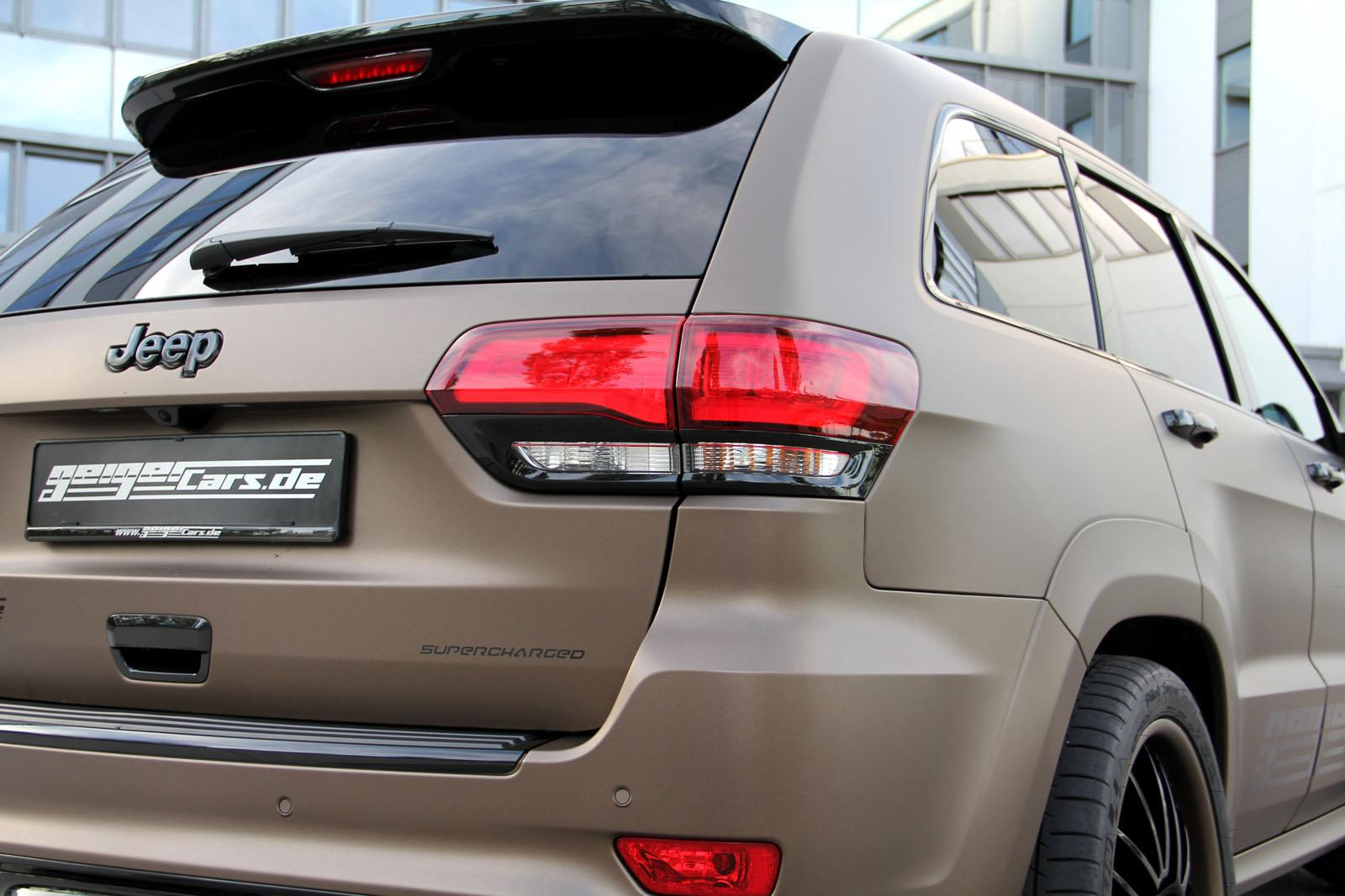 ... Supercharged Jeep Grand Cherokee SRT From Geiger Cars ...