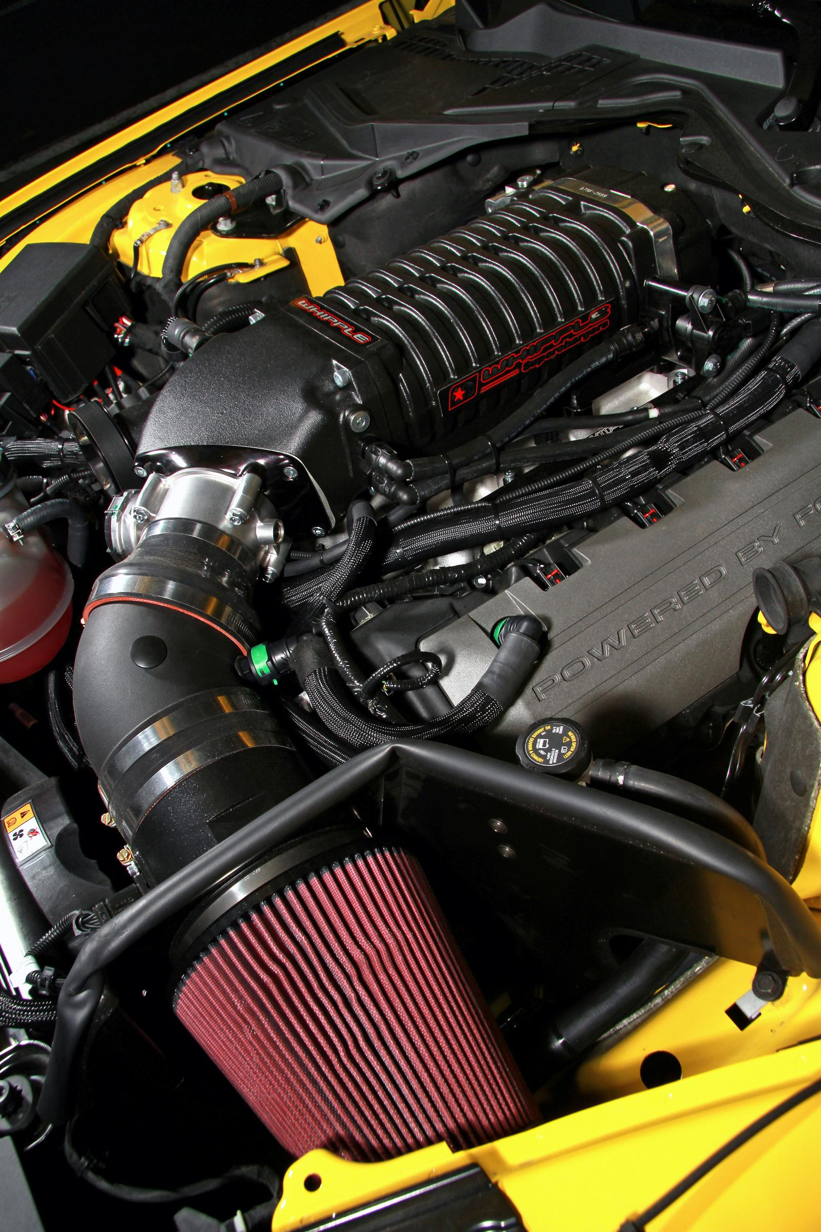 Supercharged Mustang From Geiger Cars Churns Out 709