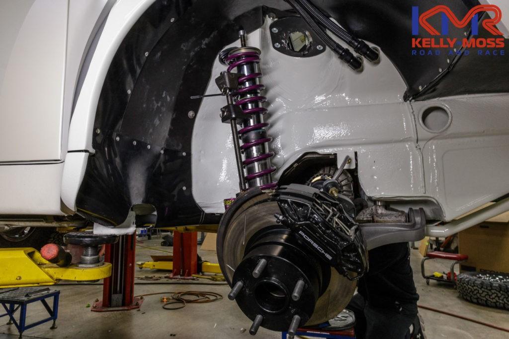 Supercharged Porsche 911 964 Rally Car Drifts Over A