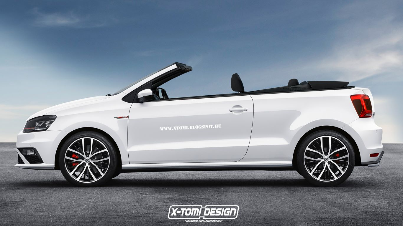 Supermini Cabrio Rendering Collection Corsa Fiesta Polo