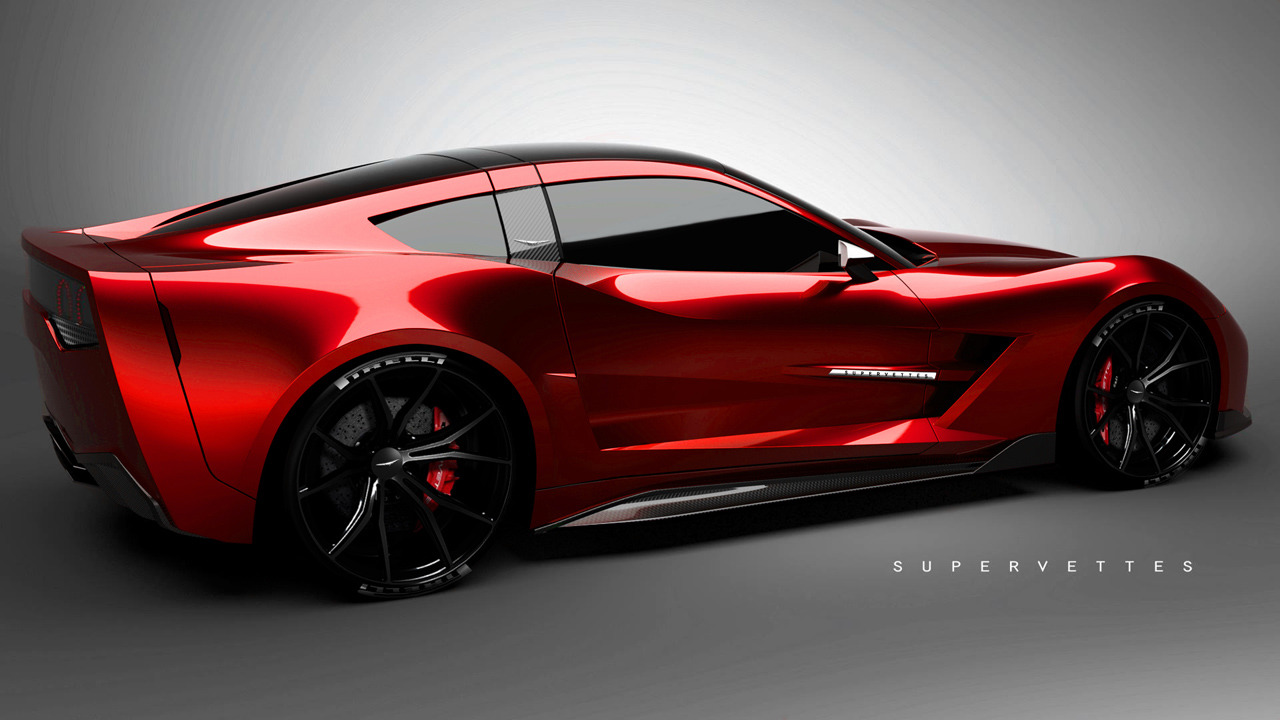 supervettes unveils sv8 r kit for c6 corvette. Black Bedroom Furniture Sets. Home Design Ideas