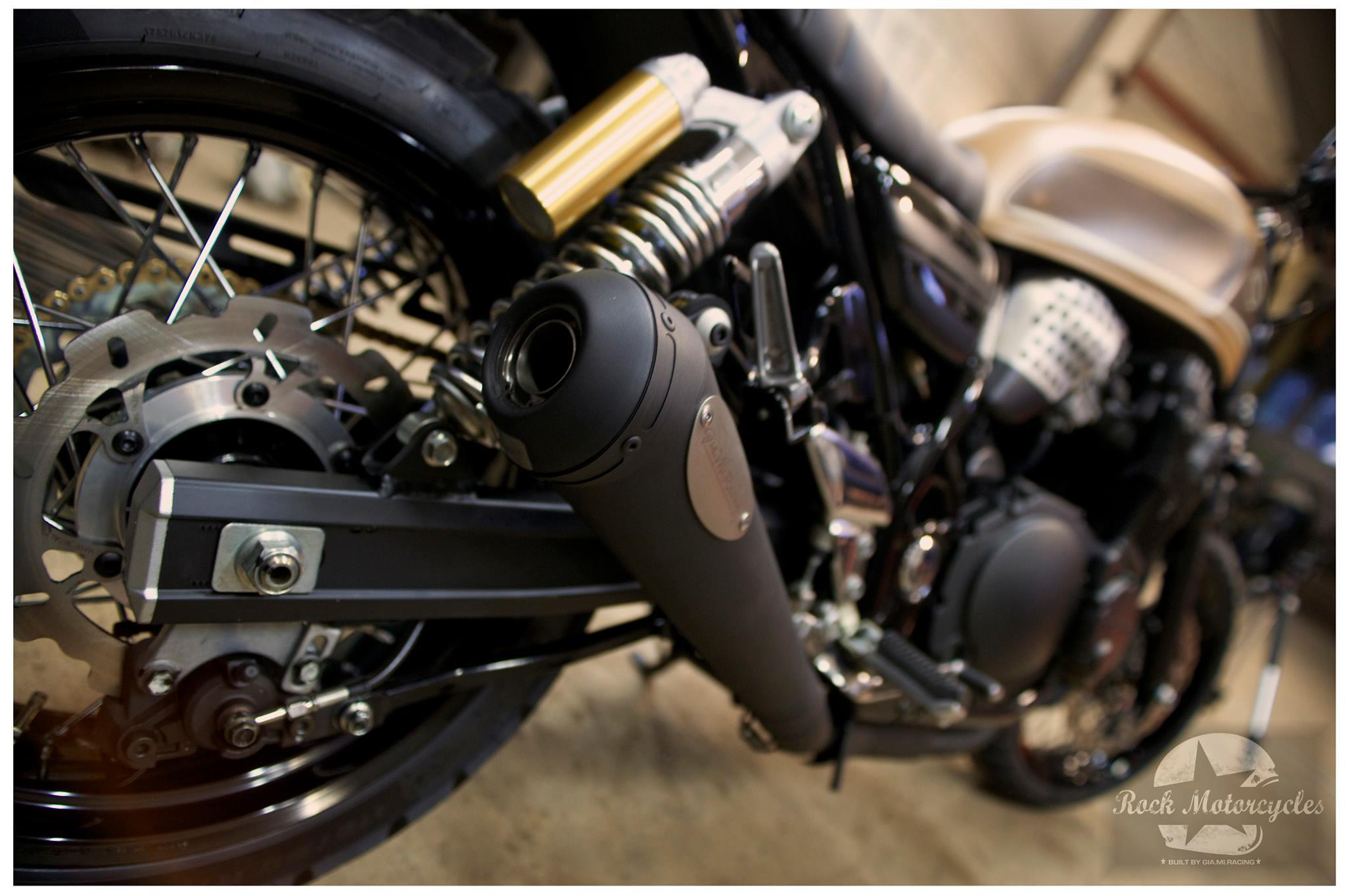 Suzuki 750 Inazuma Scrambler By Rock Motorcycles