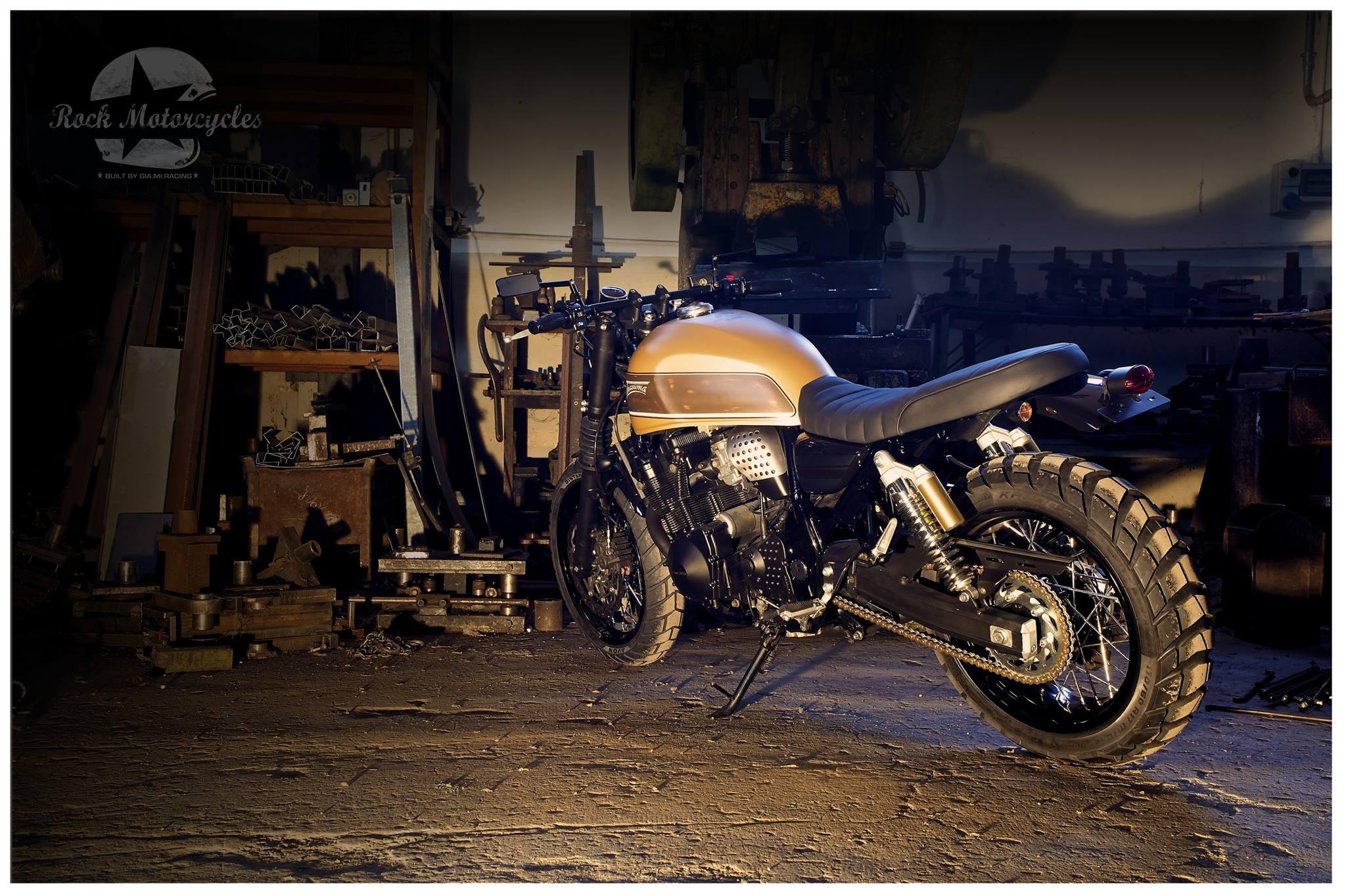 Suzuki Inazuma Scrambler By Rock Motorcycles Photo Gallery on Sportster Paint