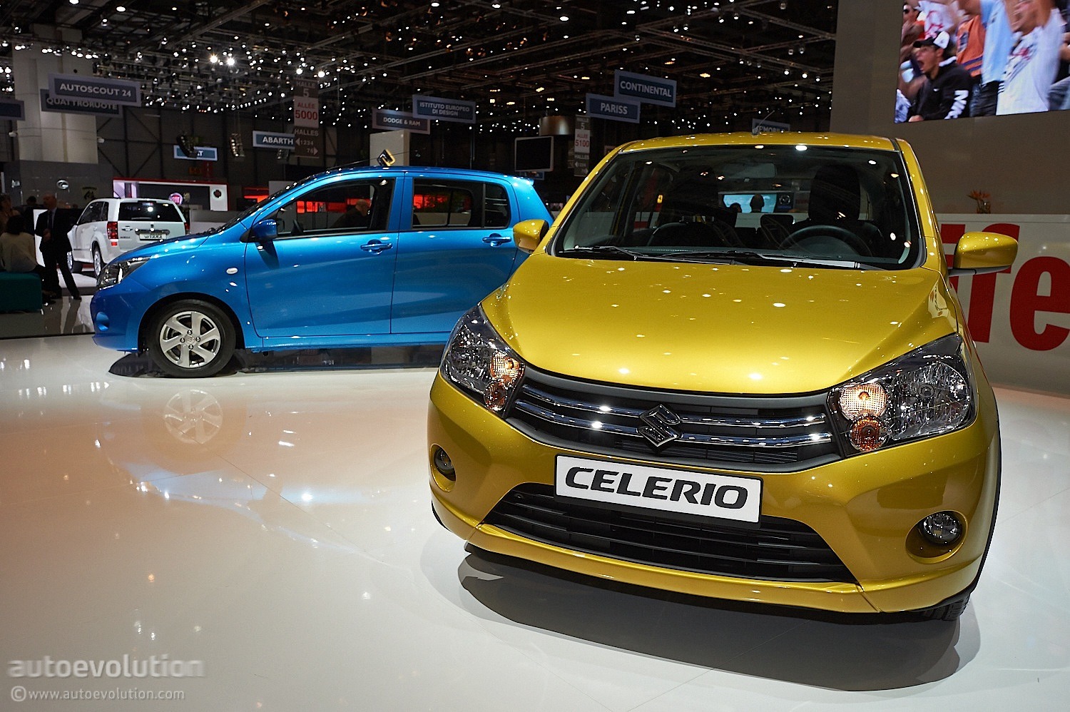 suzuki celerio promises 85 g km thanks to dual injection system live photos autoevolution. Black Bedroom Furniture Sets. Home Design Ideas