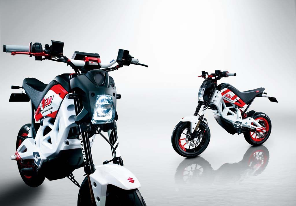 Suzuki EXTRIGGER Is the Electric Response to the Honda ...